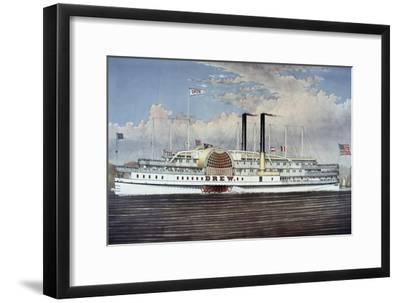 People's Line - Hudson River, from 'The Palace Steamers of the World' Series