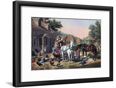 Preparing for Market, 1856