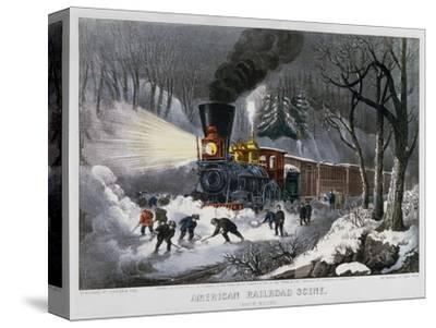 Railroad Snow Scene, 1872