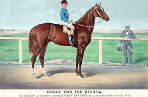Ready for the Signal by Currier & Ives