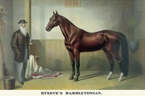 Rysdyk's Hambletonian by Currier & Ives