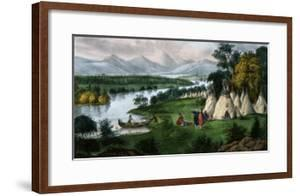 Scenery of the Upper Mississippi by Currier & Ives
