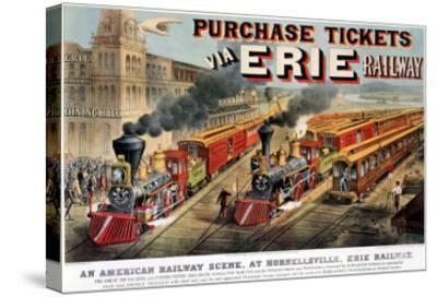 The American Railway Scene at Hornellsville, Erie Railway