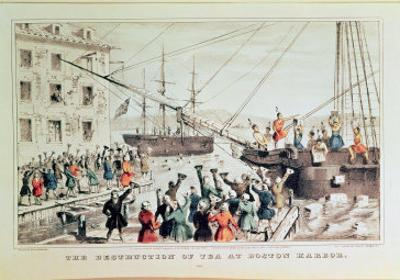 The Boston Tea Party, 1846