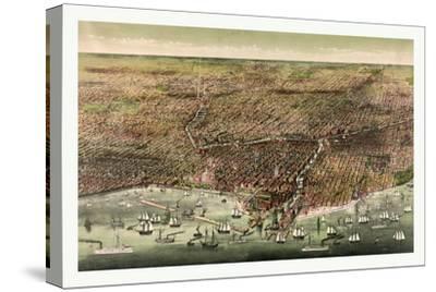 The City of Chicago, Circa 1892, USA, America