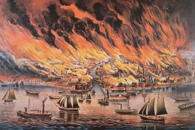 The Great Fire of Chicago, 1871