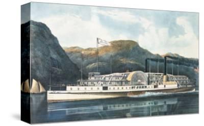 """The Hudson River Steamboat """"St. John"""""""