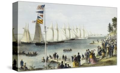 The New York Yacht Club Regatta, 1869