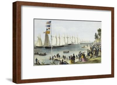 The New York Yacht Club Regatta, 1869