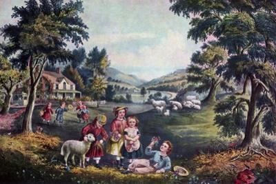 The Season of Joy, Childhood, 1868