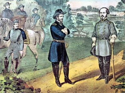 The Surrender of Confederate Forces in North Carolina, American Civil War, 1865