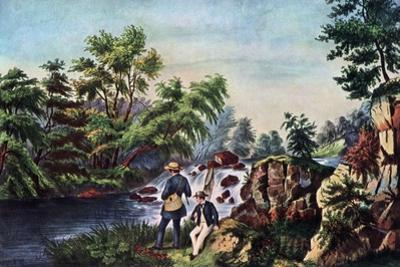 The Trout Stream, 1852