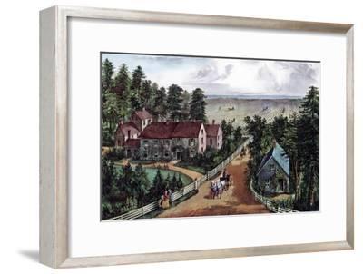 The Western Farmer's Home, 1871