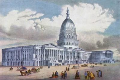 Washington, United States Capitol, 19th Century