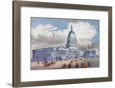 Washington, United States Capitol, 19th Century