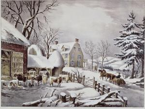 Winter Morning by Currier & Ives