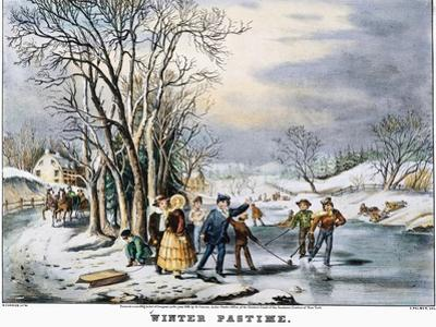 Winter Pastime, 1856
