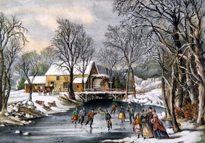 Winter Pastime, 1870