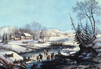 Winter Scene: Morning 1854