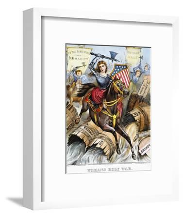 Woman's Holy War, 1874