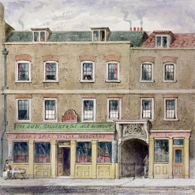 Curriers' Hall, 1850-John Burell Read-Giclee Print