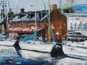 Annapolis Wharf by Curt Crain