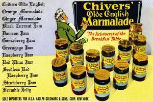 Chivers' Old English Marmalade by Curt Teich & Company