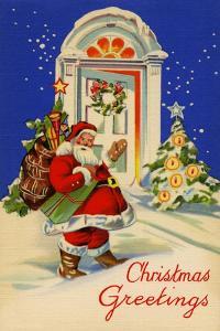 Christmas Greetings by Curt Teich & Company