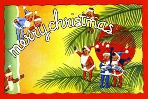Merry Christmas by Curt Teich & Company
