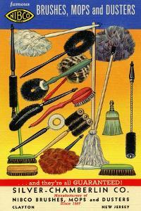 Nibco Brushes, Mops, And Dusters by Curt Teich & Company