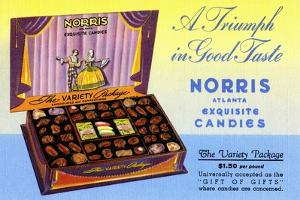 Norris Atlanta Exquisite Candies by Curt Teich & Company