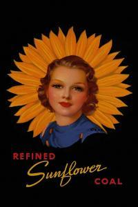 Refined Sunflower Coal by Curt Teich & Company