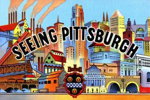 Seeing Pittsburg by Curt Teich & Company