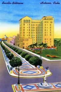 Sevilla-Biltmore by Curt Teich & Company