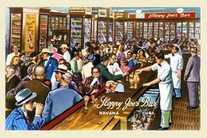 Sloppy Joe's Bar by Curt Teich & Company