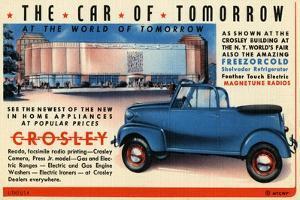 The Car Of Tomorrow by Curt Teich & Company