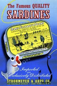 The Famous Quality Sardines by Curt Teich & Company