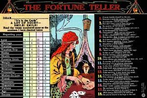 The Fortune Teller by Curt Teich & Company