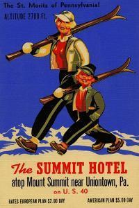 The Summit Hotel by Curt Teich & Company