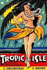 Tropic Isle by Curt Teich & Company