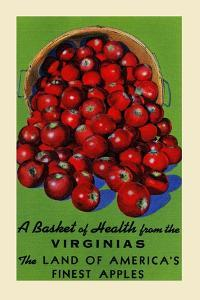Virginia's Finest Apples by Curt Teich & Company