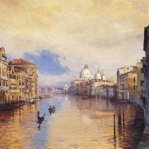 The Grand Canal by Curt Walters