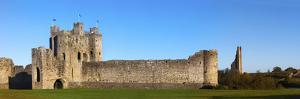 Curtain Walls of a Castle, Trim Castle, Trim, County Meath, Republic of Ireland