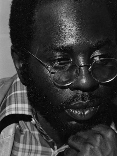 Curtis Mayfield - 1973-Ozier Muhammad-Photographic Print