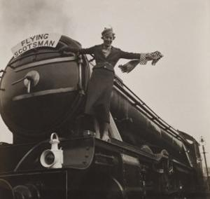 Lady on the Flying Scotsman, c.1925-30 by Curtis Moffat