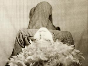 Nancy Cunard, Writer, Detail of Diptych, c.1925 by Curtis Moffat