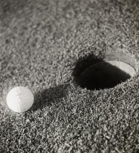 Still-Life Composition, Golf by Curtis Moffat