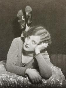 Tallulah Bankhead, Actress, One of a Diptych by Curtis Moffat