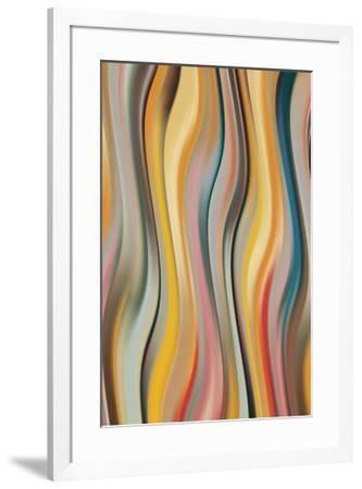 Curve 7-J^P^ Clive-Framed Art Print
