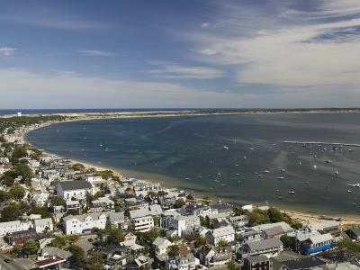 Curve of Cape Cod, Provincetown, Cape Cod, Massachusetts, USA-Walter Bibikow-Photographic Print